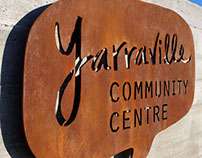 Yarraville Community Centre Building Graphics