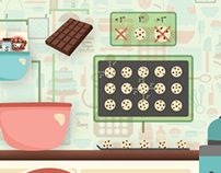 Chocolate Chip Cookie Infographic