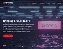 Arcmetry marketing agency website