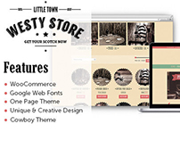 Westy - A One Page Woocommerce Wordpress Theme