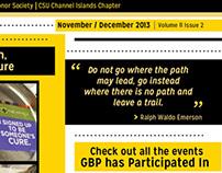 Gamma Beta Phi Newsletter