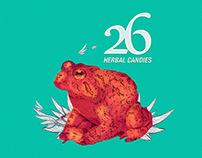 26 Herbal Candies - presentación