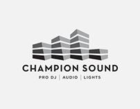 Champion Sound Brand Identity