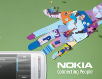 Nokia  -  every message brings us closer.
