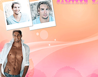 Camille Lacourt 6 Animated