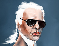 Tribute to Karl Lagerfeld