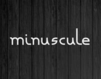 Minuscule Font (Free)