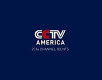 2016 CCTV-America Idents