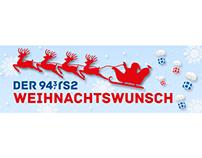 """Screendesign: """"Weihnachtswunsch"""""""