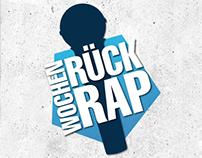 "Logo: ""KISS FM Wochen-Rück-Rap"""
