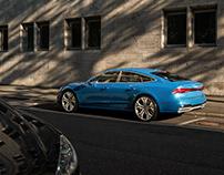 Audi A7 2018 CGI+Retouching