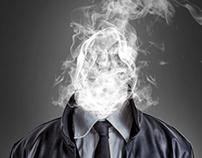 Men with Smoke