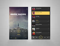 UI Design -Music Player