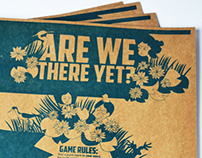 """Are we there yet?"" Broadside Poster and Game"