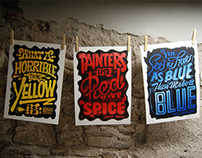 COLOR QUOTES / Silkscreen Prints