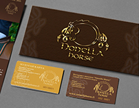 """booklet for online store """"Nonella Horse"""""""