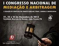 I Congresso Nacional de Mediação e Arbitragem / PB