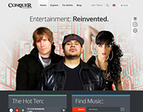 GetConquer.com Redesign
