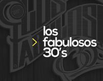 Los fabulosos 30's