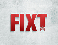 FIXT Ltd: Name, positioning, brand & design work.