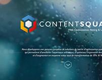Corporate Identity Content Square