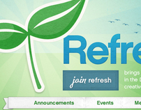 Refresh DC Website
