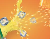 Punch ... pulpy orange juice