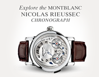 Montblanc STORIES TO TELL Website