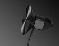 The Symbol of Sound; Concept Headphones for SONY.