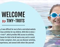 Tiny-Trots Website Design
