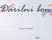 Darilni boni - Gift certificates