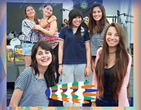 """Flyer promocional centro cultural """"La Tribu""""."""