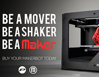 Be a #MOVER. Be a #SHAKER. Be a #MAKER.