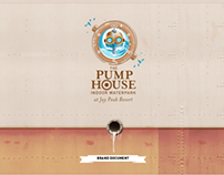 Jay Peak Resort Pump House Waterpark brand & identity