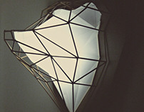 Colin's Bear Luminária Geométrica