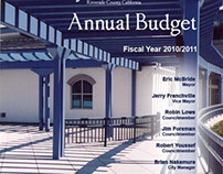 Annual Budget Cover