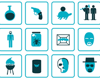 20 Breaking Bad Icons