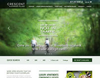 Crescent Communities - Responsive Web Design
