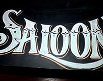 Saloon Chalkboard Lettering