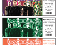 concert tickets (Radiohead)