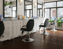 Photorealisitc Barbershop