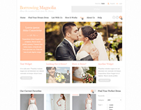 Borrowing Magnolia (classified ads) wedding dresses