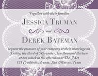 Stationery - Wedding Invitations