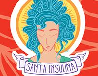 """Criação da marca """"Santa Insulina"""" (Em construção)"""