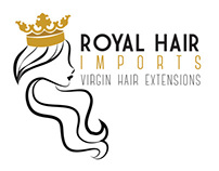 Logo Design - Royal Hair Imports
