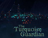 """The Turquoise Guardian"" animation concept art"