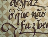 Calligraphy & Lettering (2013)