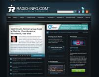 Radio-Info.com Website Design