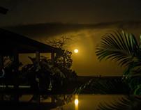 Fazenda, noite de Lua Cheia.