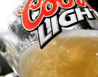 "Coors Light ""Frost Brewed"""